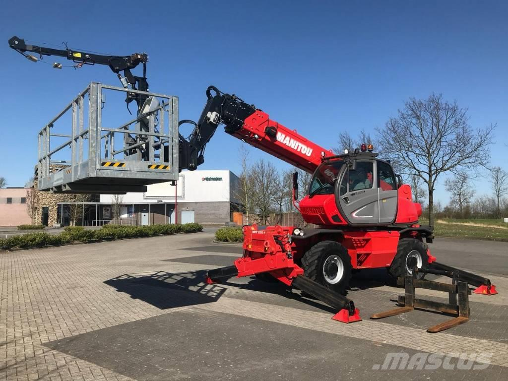 Manitou MRT 2150 Plus Privilege / BASKET / WINCH / REMOTE