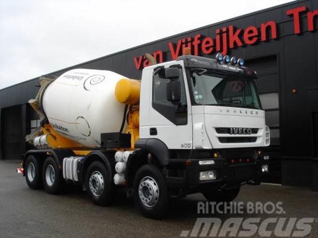 Iveco TRAKKER 410 8X4 - BARYVAL 9 CUB MIXER - 4X UNITS