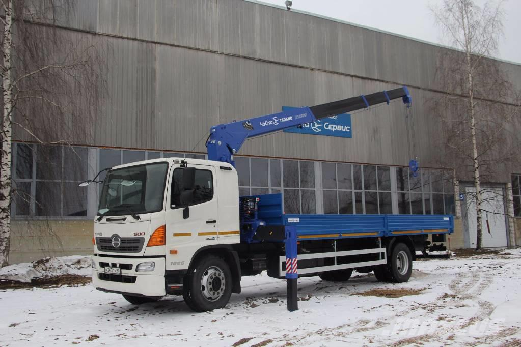 Crane Truck For Sale >> Used Hino 500 Crane Trucks Year 2017 Price Us 87 179 For Sale