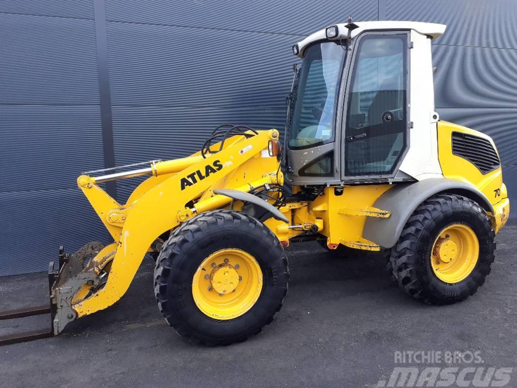 Atlas AR70 shovel wiellader loader kniklader radlader