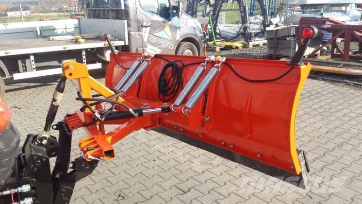 Top-Agro Snow plow, straight 1,85m + hydraulic steering