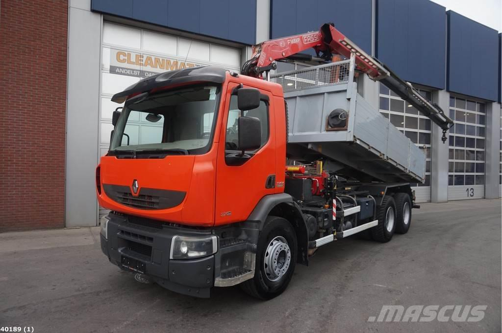 Renault Premium 370 6x4 Fassi 15 ton/meter laadkraan