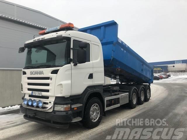 Scania R4808x4*4  Tippbil. Ny Motor.  650 000:-
