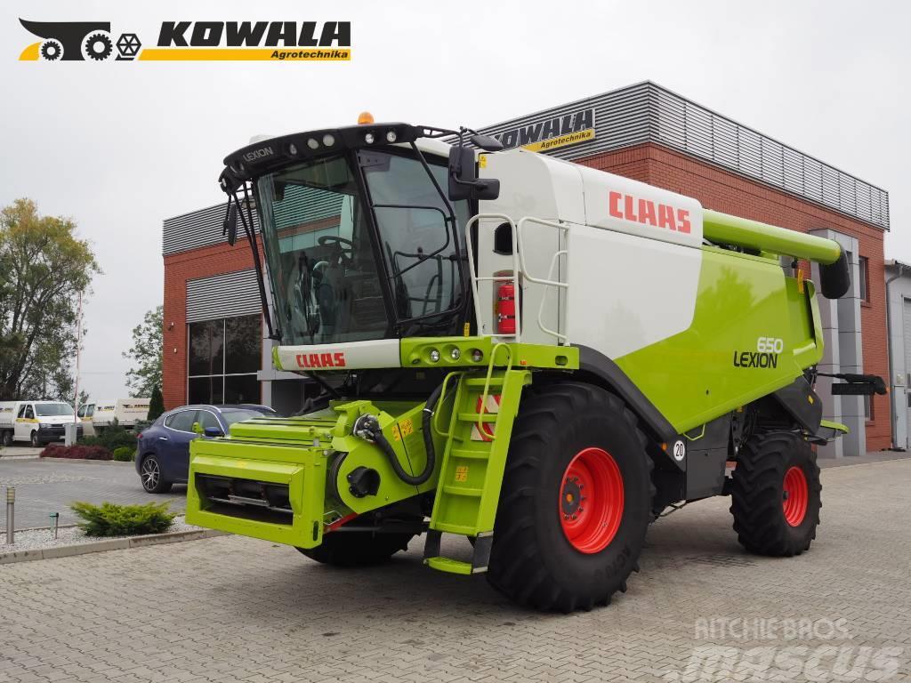 CLAAS Lexion 650 + V770