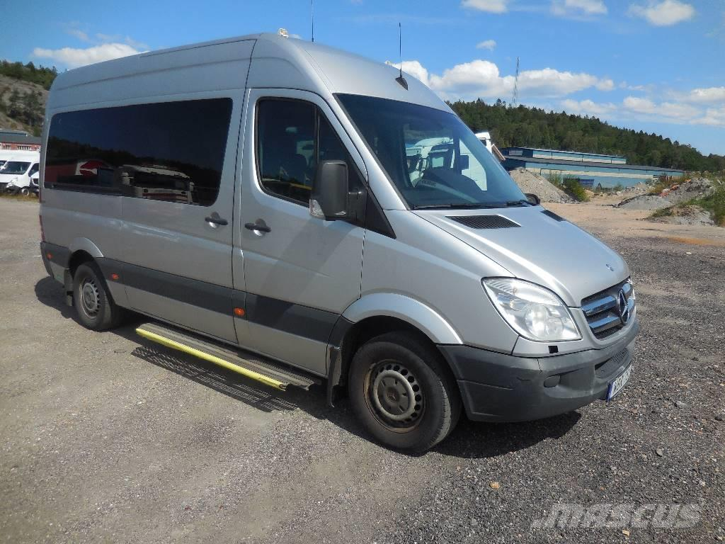 used mercedes benz sprinter 315 cdi mini bus year 2009. Black Bedroom Furniture Sets. Home Design Ideas