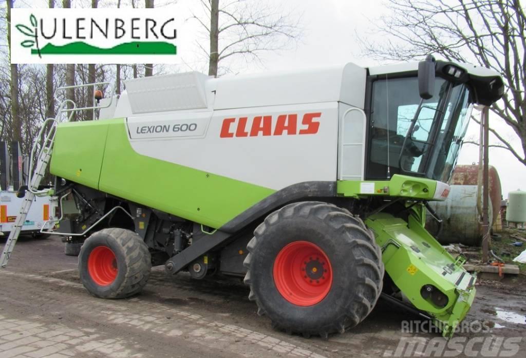 CLAAS Lexion 600 + VARIO1050 + w.transportowy