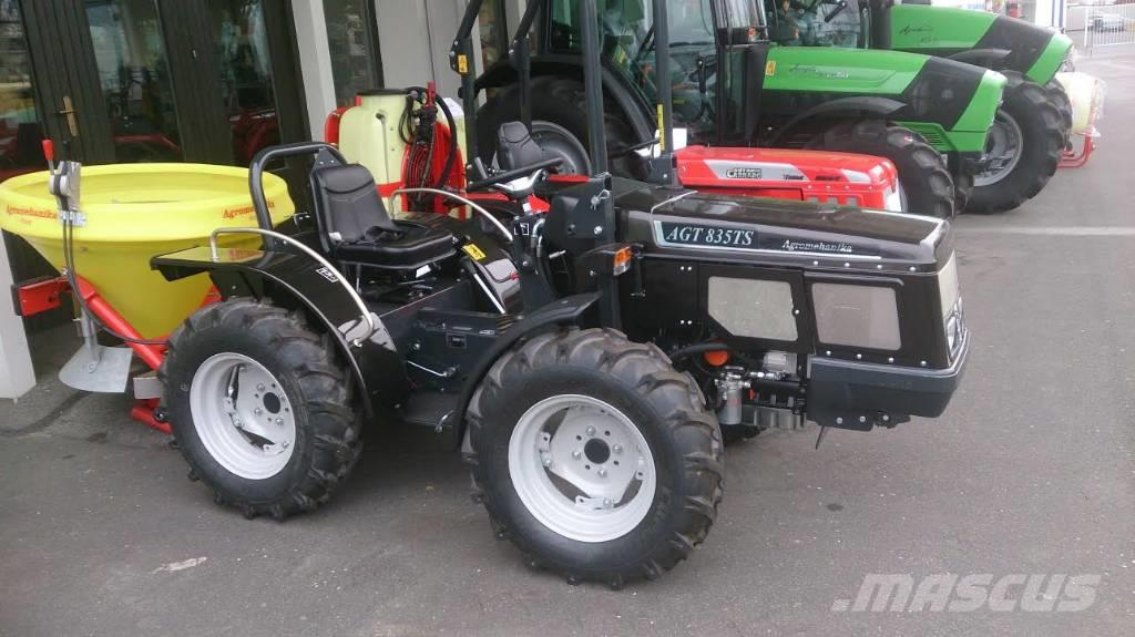 tracteur forestier agt micro