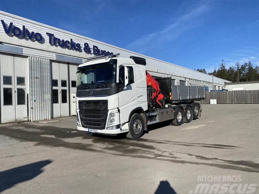 Volvo FH Lastväxlare med Kran PK40002