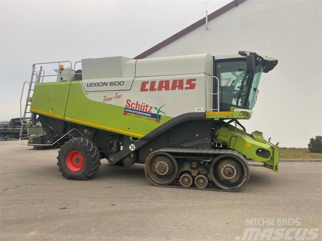 CLAAS Lexion 600 Terra-Trac, Bj.2009, V1050