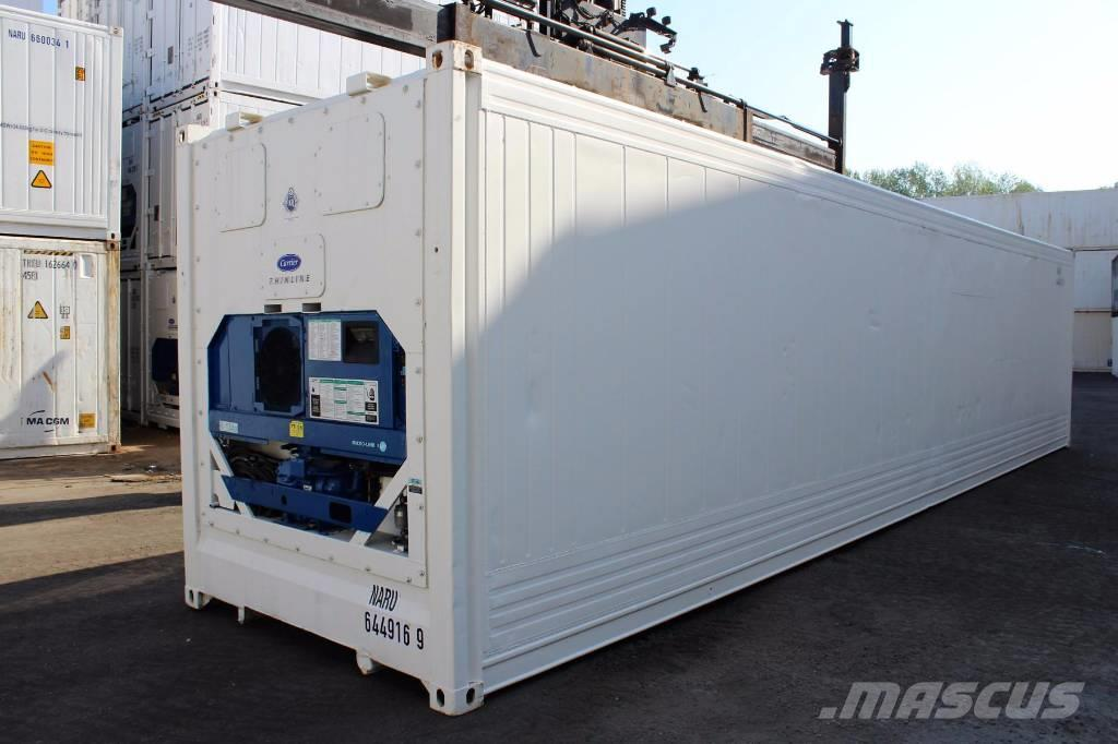 Carrier transicold reefer 40hc carrier k hlcontainer reefe for Container d occasion prix
