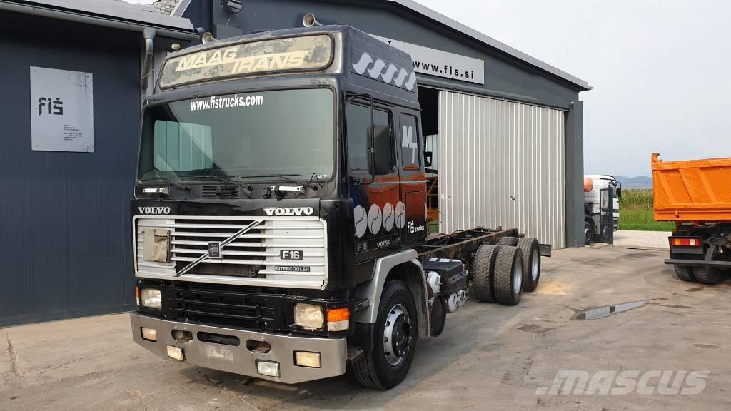 Volvo F16 470 6x4 chassis