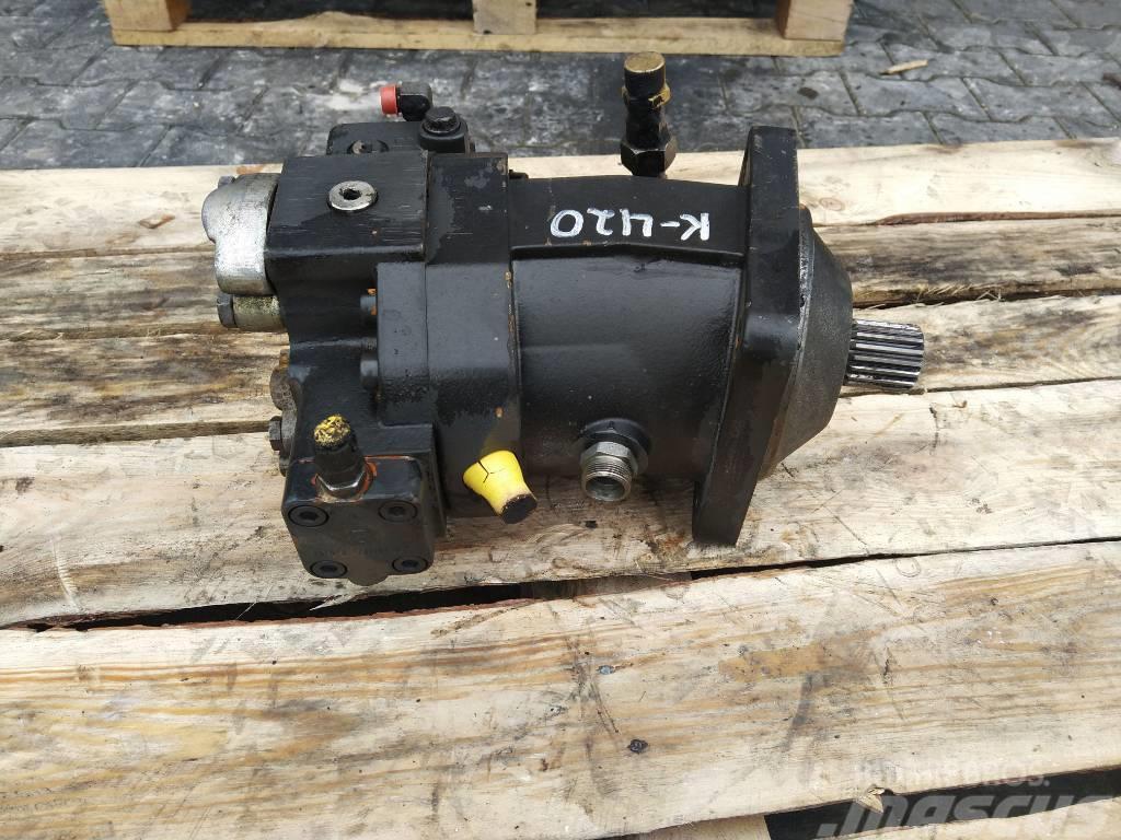 Kramer 420 Hydraulic pump hydraulic engine A6VM107DA2 pre