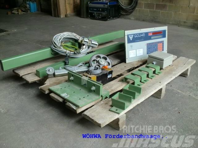 SBM + WÖHWA Teile + Förderbandwaage, 1998, Mills / Grinding machines