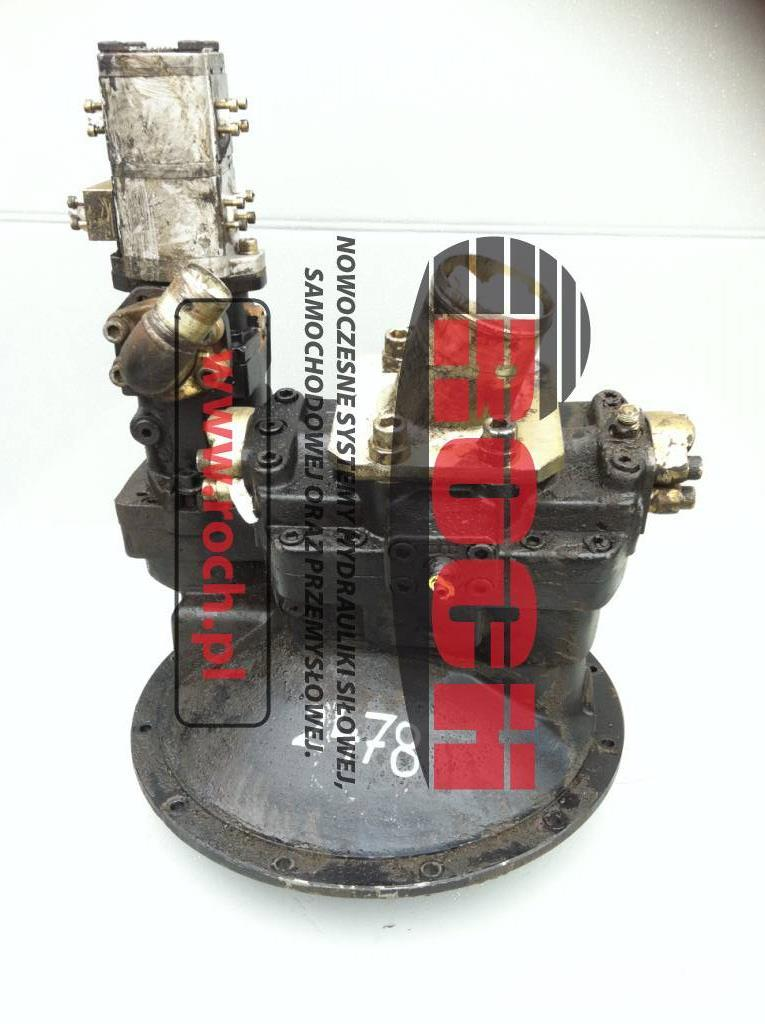 CASE 988 Hydromatik Rexroth A8V 080+ A4F 028 Pompa Pump