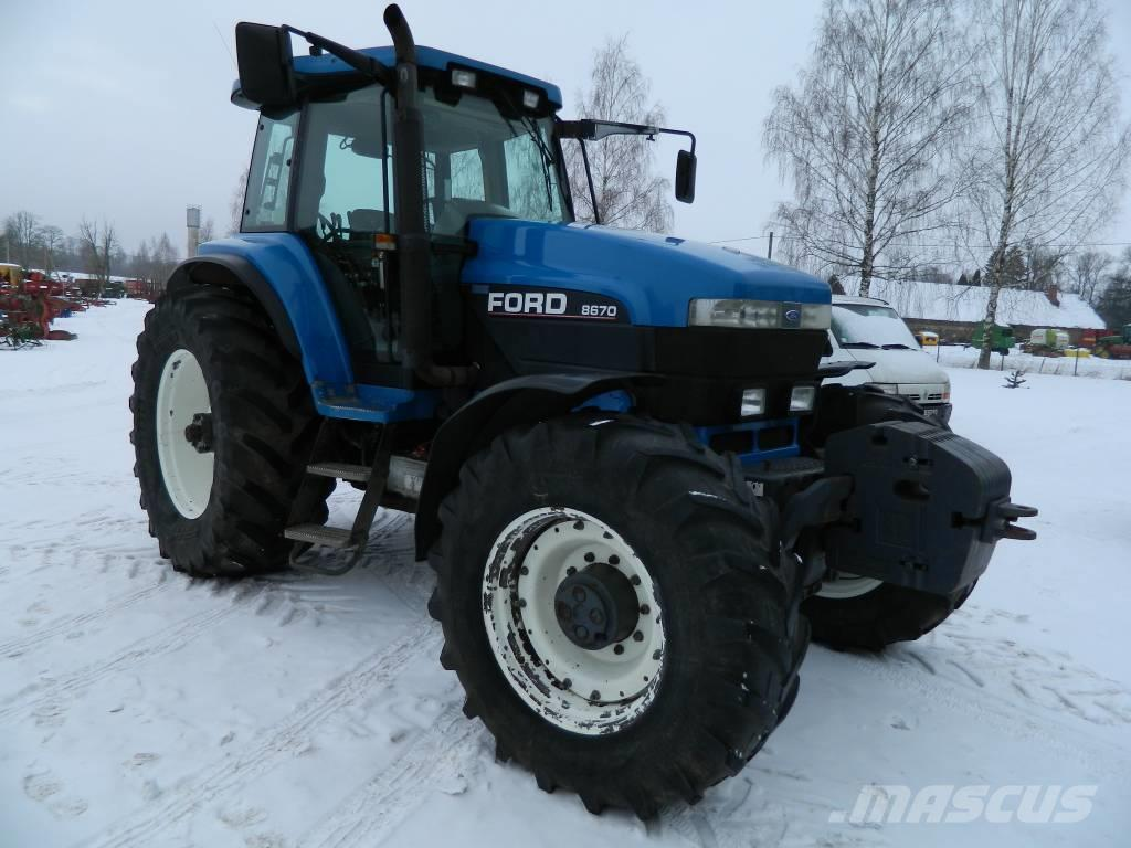 Ford 8670
