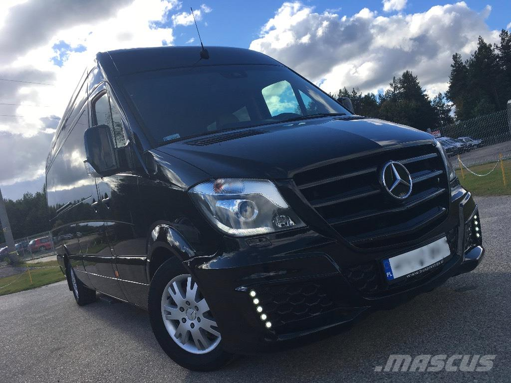 Used mercedes benz sprinter 319 vip luxus business van for Mercedes benz use