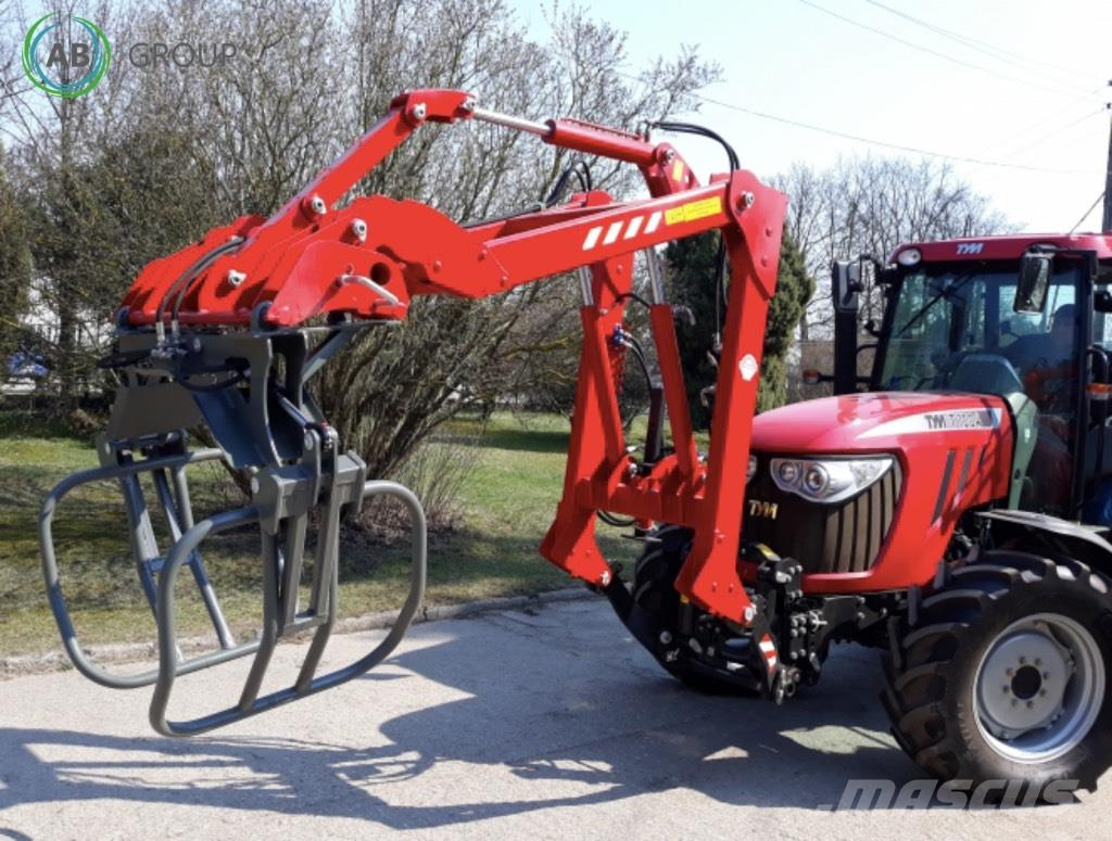 Pomarol Front u. Hecklader /Front and rear mounted loader