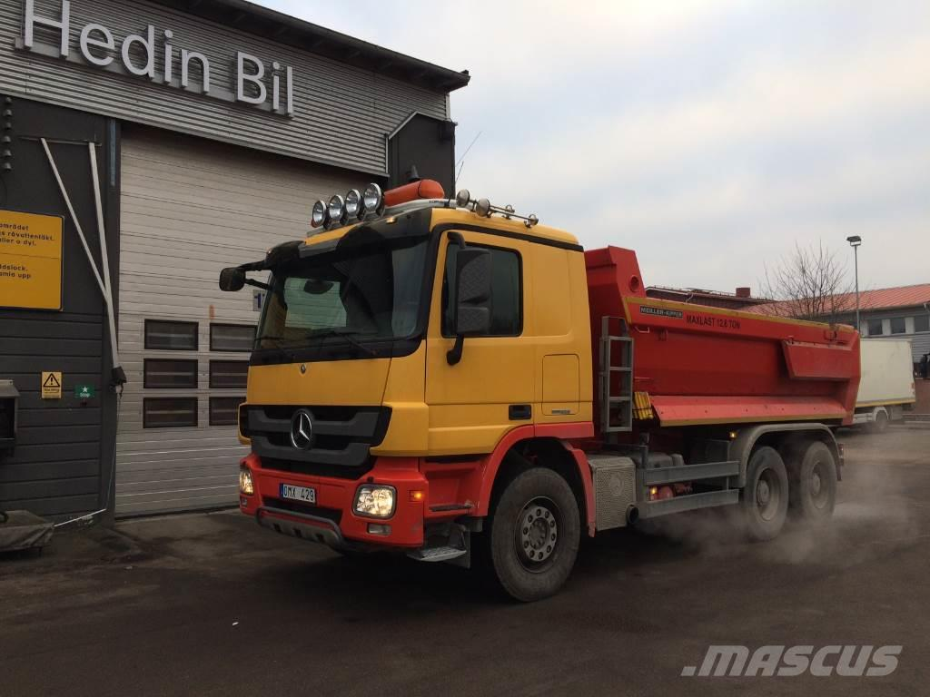 Mercedes benz actros 2646 lk tipper trucks year of for Mercedes benz financial phone number usa