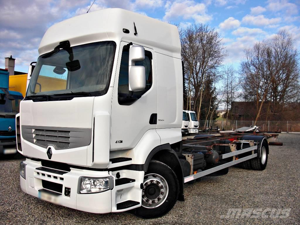 Renault Premium 410.19 DXI BED Chassis BDF A/C Webasto