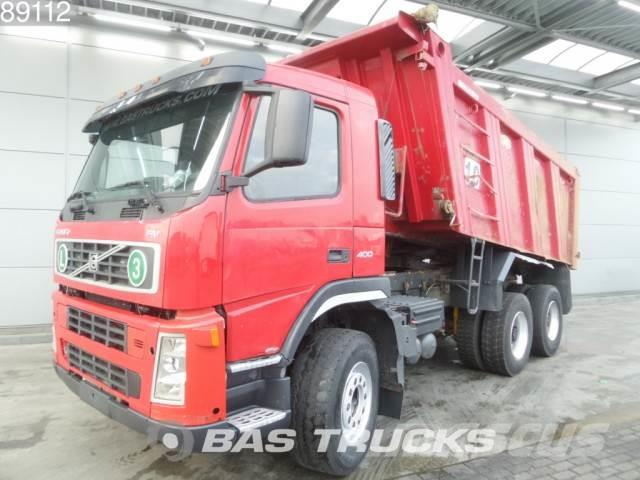 Volvo FM 400 6X4 Manual Big-Axle Analog-Tacho Euro 3