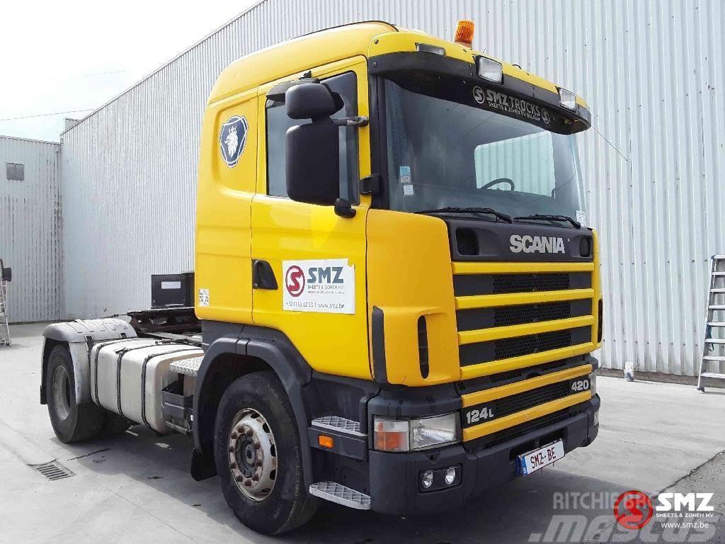 Scania 124 420 francais PTO