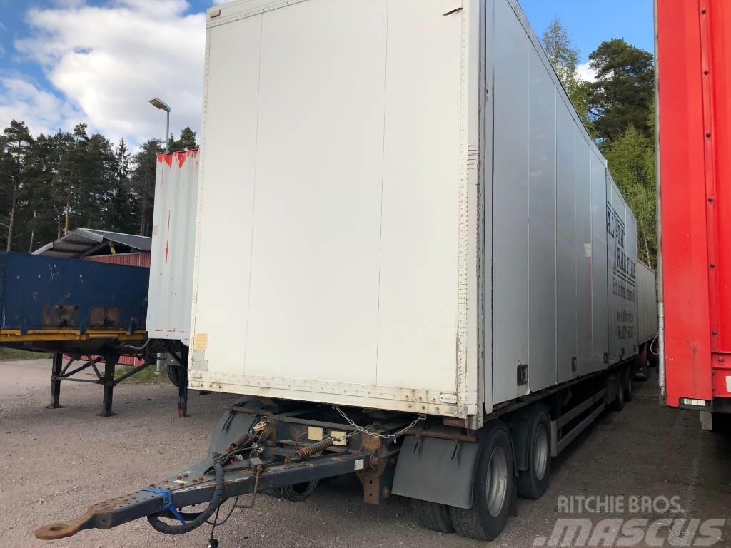 Schmitz 4-axl skåpvagn