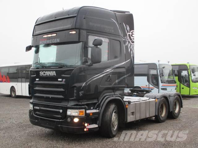 Scania R560 / 6X4 / HYDRAULICS / ADR /RETARDER