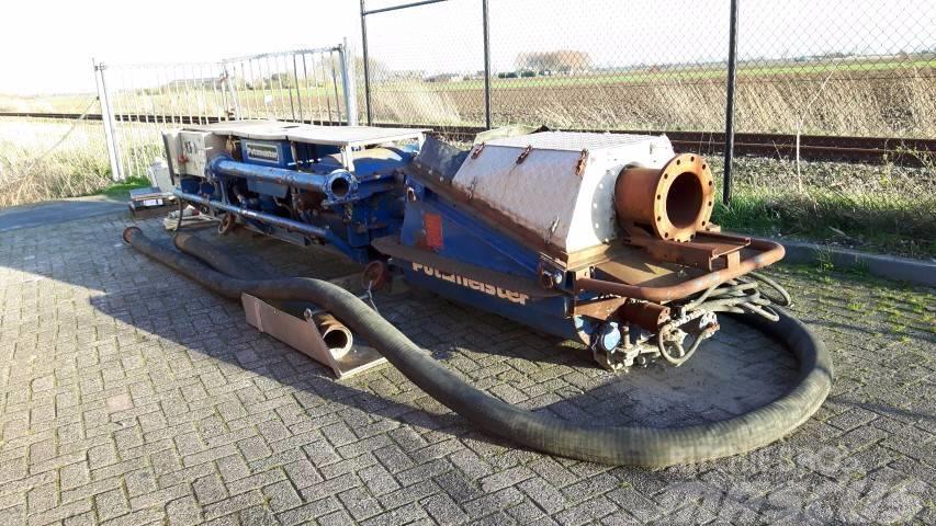 Putzmeister MPT 16 Tunnel Muck Pump