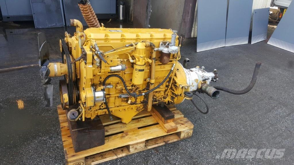 Caterpillar engines with hydraulics pomp
