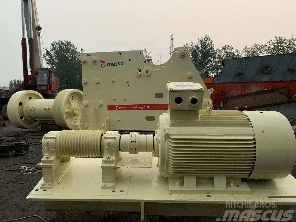 Metso Nordberg Used Metso original C125 Jaw Crusher in China