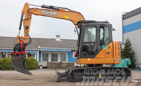 CASE CX75CSR, CX130D, CX145CSR, CX210D, CX250D, CX300D til salg, Årgang: 2018 - Brugte CASE ...