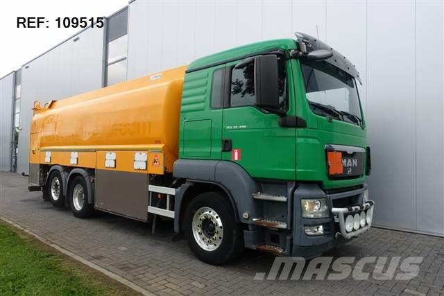 MAN TGS26.480  RETARDER EURO 5 STEERING AXLE