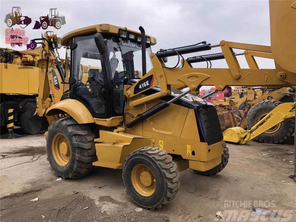 Caterpillar 416E  420E  420F   430F