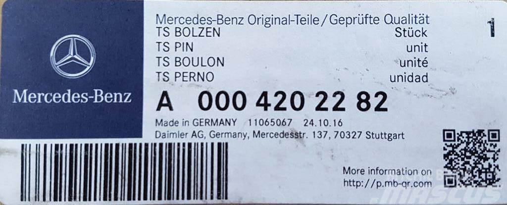 mercedes-benz actros opravná sada třmenu a0004202282, preis: 77