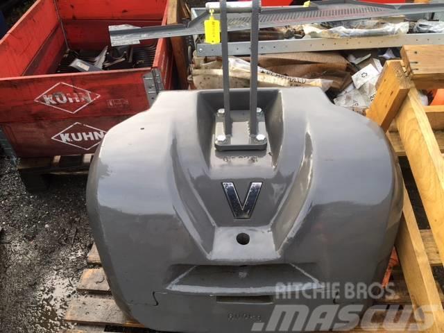 Valtra 600 + 600kg Counterweight