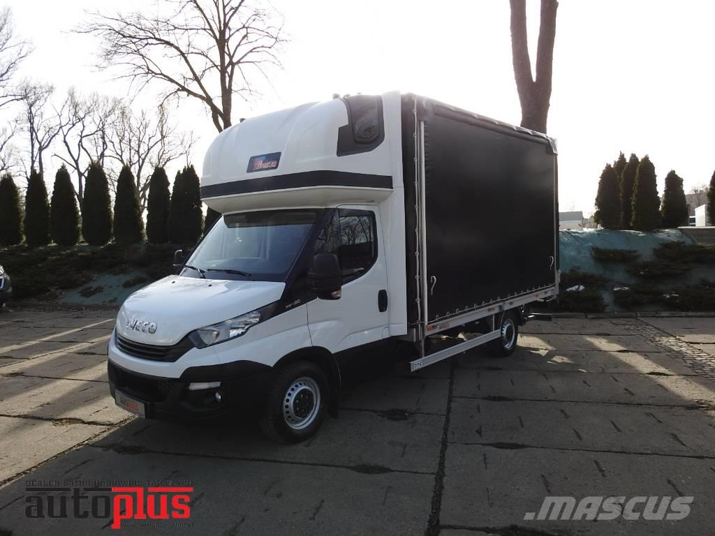 Iveco DAILY 35S18 LIFT 8 PALETS WEBASTO A/C TEMPOMAT