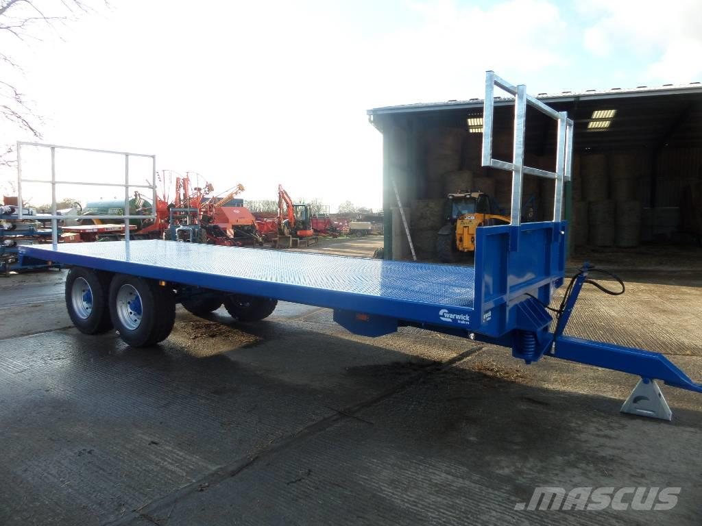 [Other] WARWICK WB12B 25FT BALE TRAILER