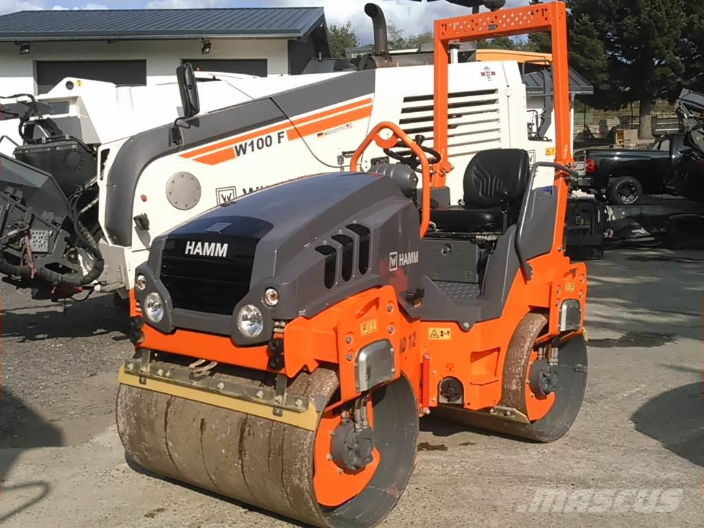 Hamm 2018 -  HD 12 VV - 120 hrs - TIER 4