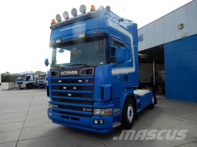 Scania 164L 480 Topline / V8 / Manual gearbox / hydraulic
