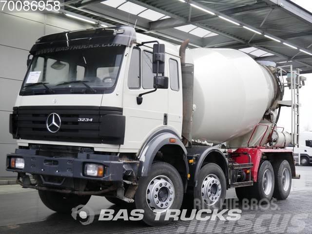 Mercedes-Benz 3234 B 8X4 Manual Big-Axle Steelsuspension Euro 2