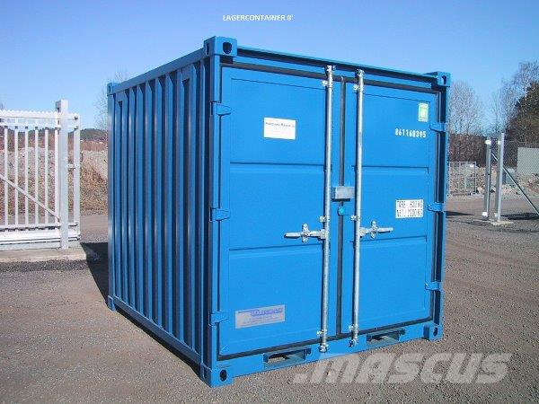 Containex 8' lager container