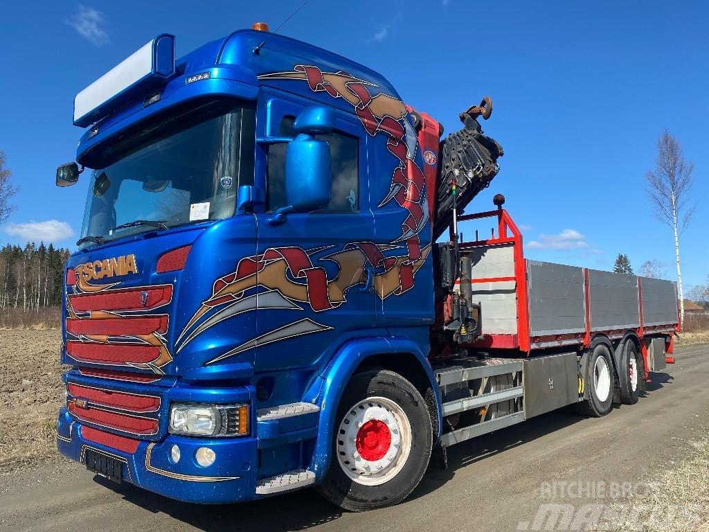 Scania G 490 HMF 3220 K7