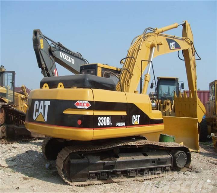 Caterpillar used hot excavator 330 B L