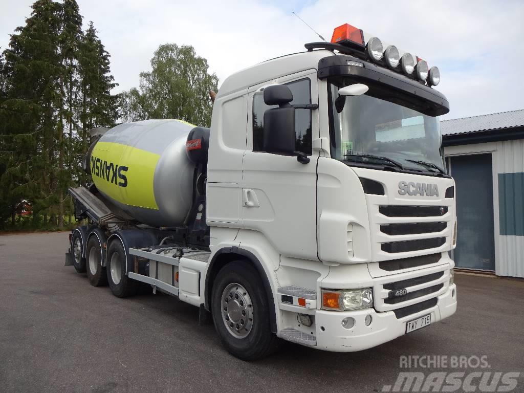 Scania Betongroterare R480lb8x4*4