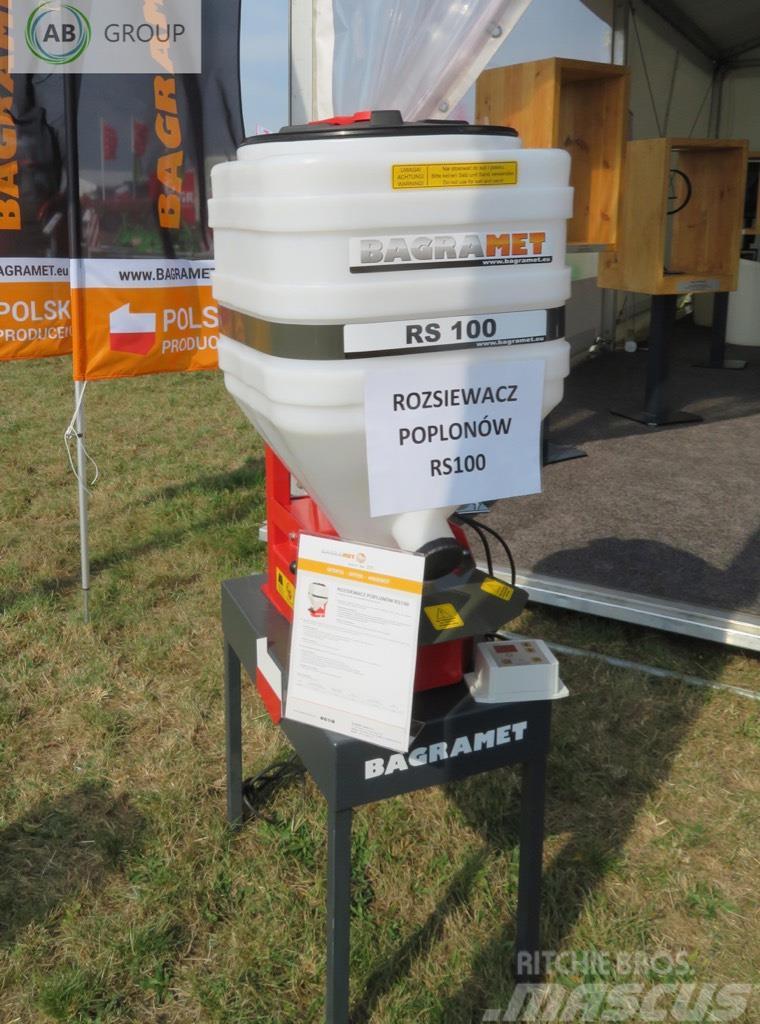 Bagramet cover crops seed drill/Zwischenfruchtstreuer