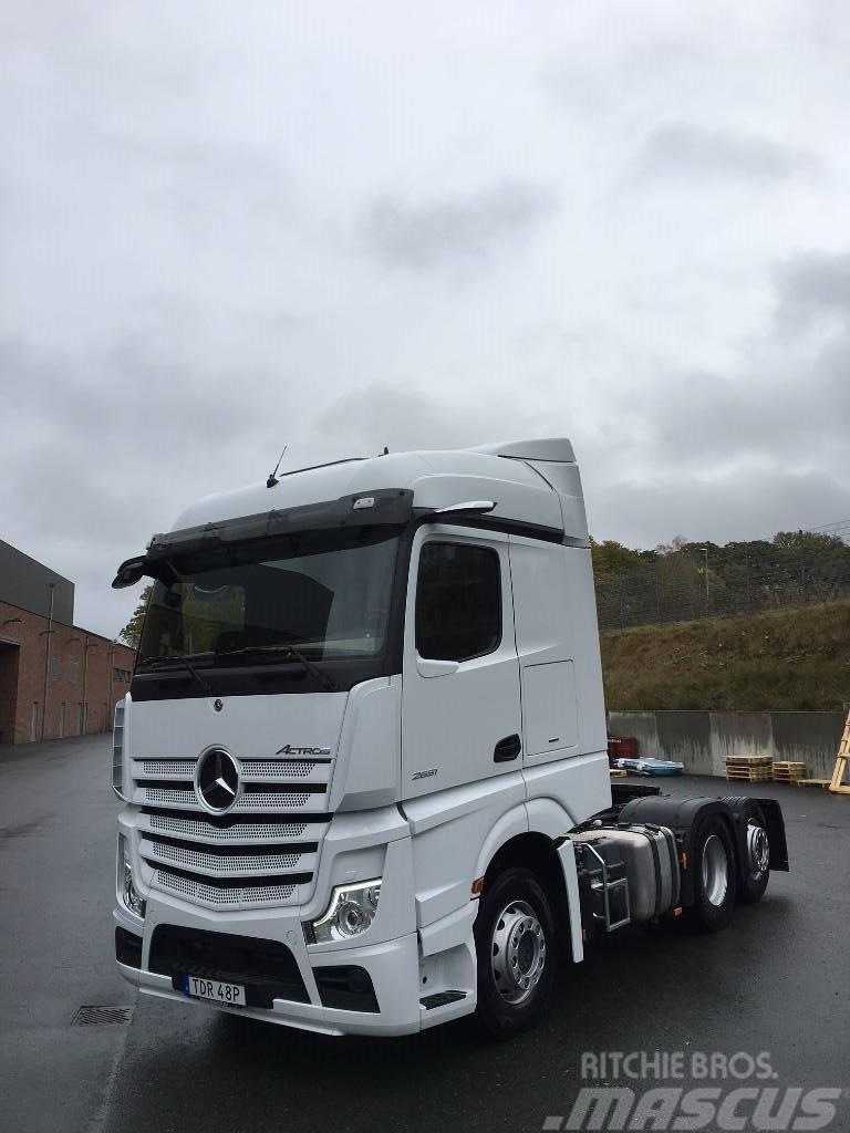 Mercedes-Benz Actros 2551 6X2 Demo till Salu