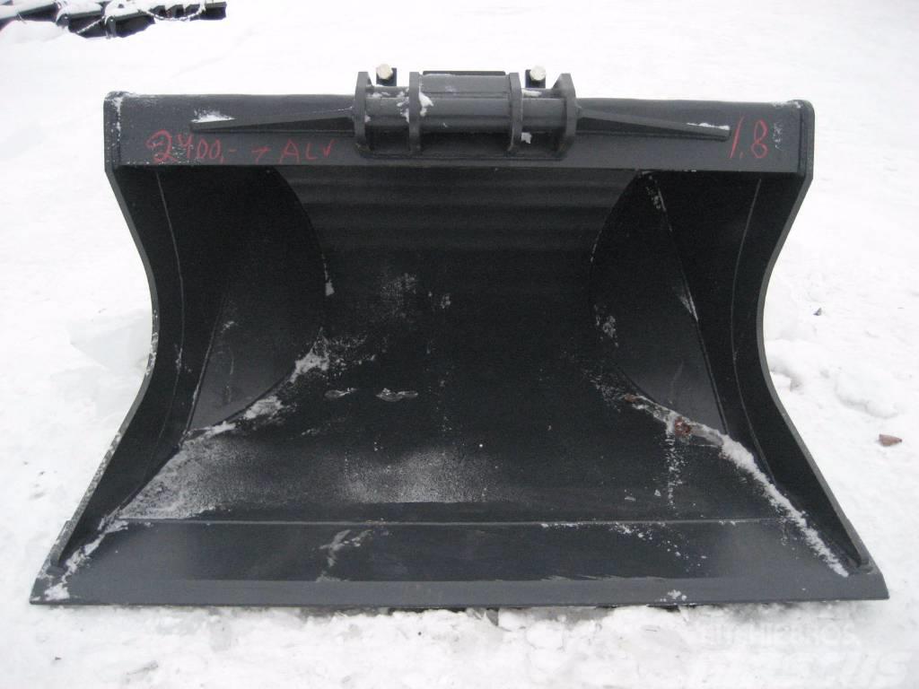 [Other] Luiskakauha 1800mm Kärsä NTP10 16-20tn koneet