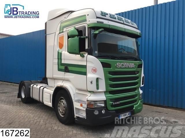 Scania R 440 Euro 5, Manual, Retarder, Airco
