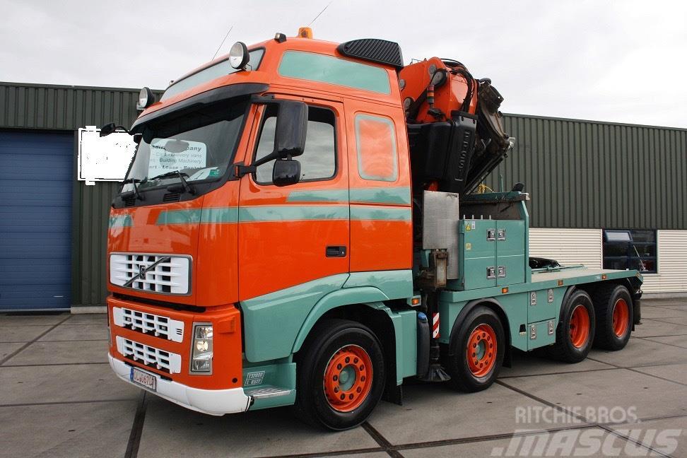 Volvo FH13 480 + Loadingcrane