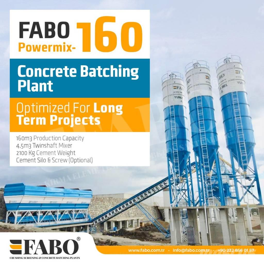 [Other] POWERMIX-160 STATIONARY CONCRETE BATCHING PLANT